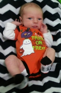 My First Trick or Treat :)